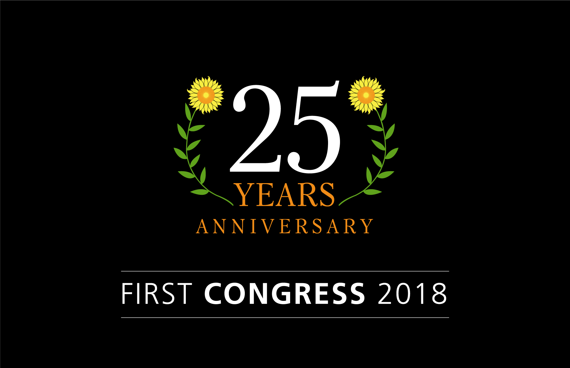 First Congress 2018 - Happy 25 Anniversary